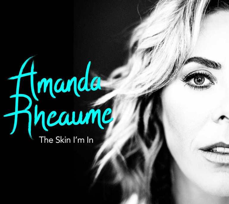 Amanda Rheaume single 'The Skin I'm In' Artwork