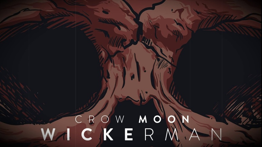 Crow Moon single 'Wickerman' Artwork