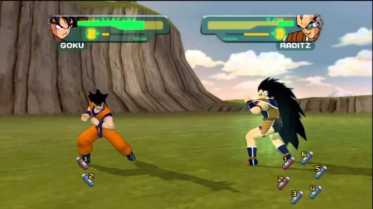 Dragon Ball Z - Budokai Gameplay