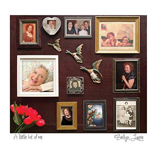Evelyn Laurie album 'A Little Bit of Me' Artwork