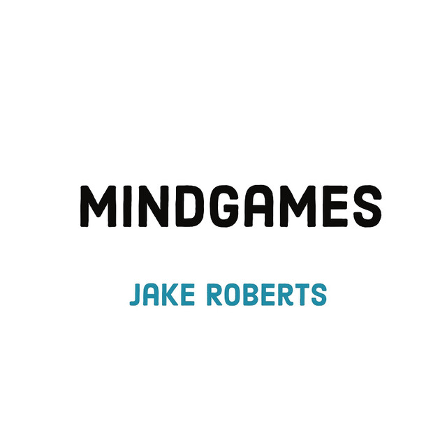 Jake Roberts single 'Mind Games' Artwork