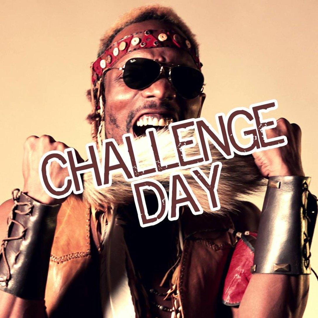 Mindbender Supreme single 'Challenge Day' Artwork