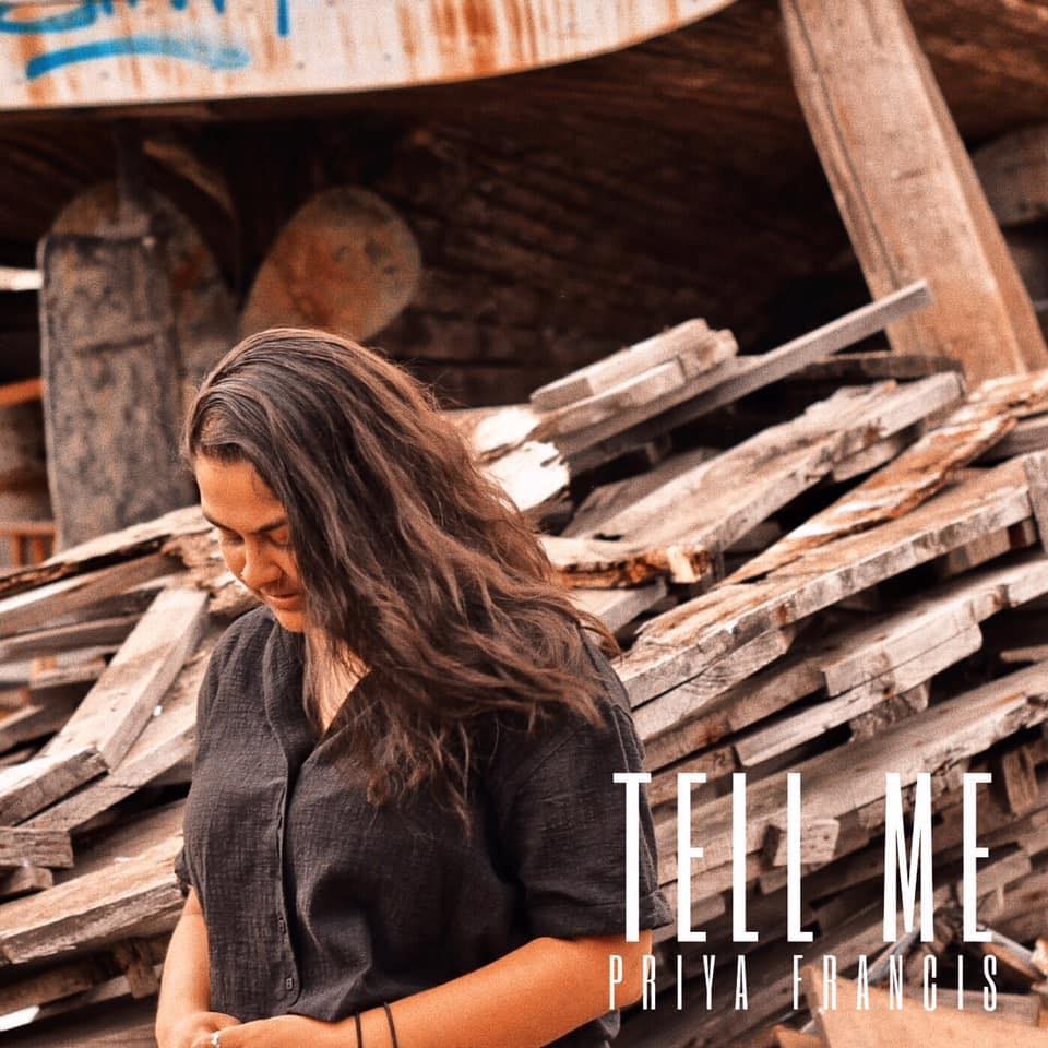 Priya Francis single 'Tell Me' Artwork