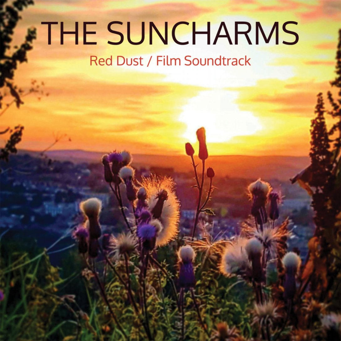 The Suncharms single 'Red Dust' Artwork