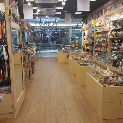 Anime Gallery - Full Store Shot (from rear of store)