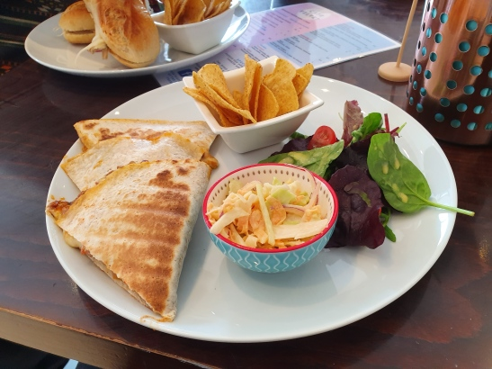 Cafe Velvet - Quesadillas with Cheese and Chilli (1)