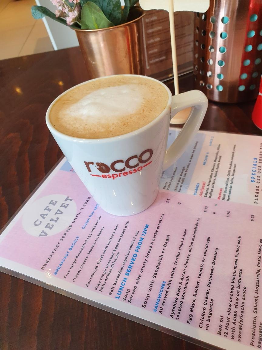 Cafe Velvet - Salted Caramel Latte