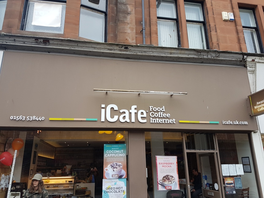Food Review – iCafe (Kilmarnock)