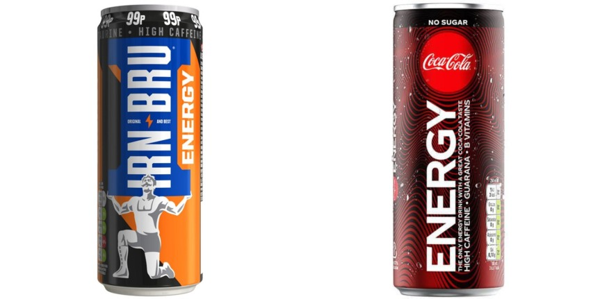 Irn Bru Energy vs Coca Cola Energy