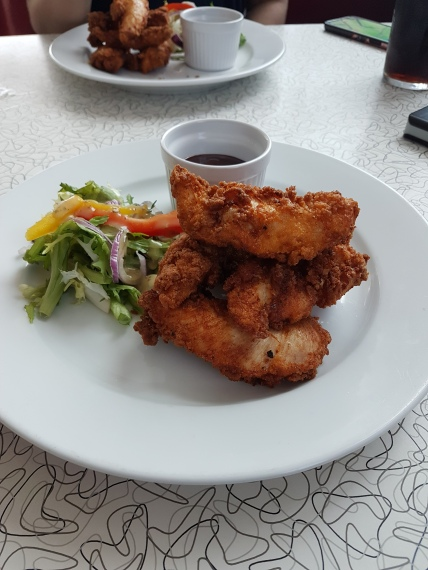 Rock Diner & Aces - Chicken Goujons (2)
