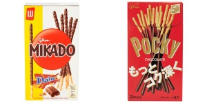 Mikado and Pocky