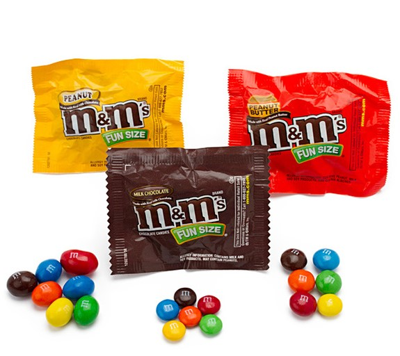 M&M Packets
