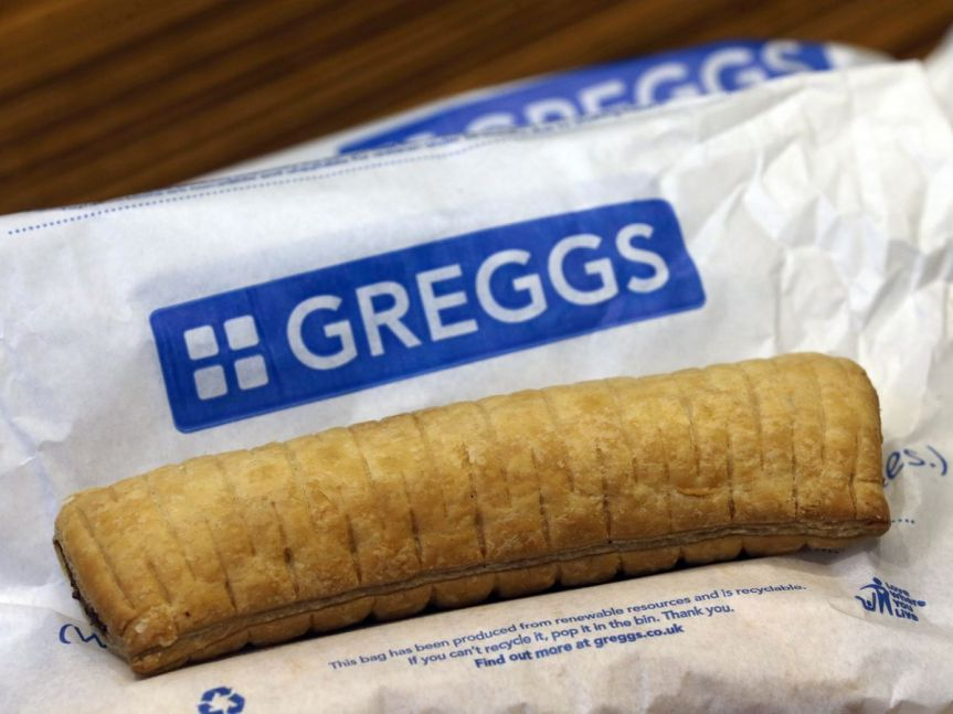 Product Review: Greggs Vegan Sausage Roll