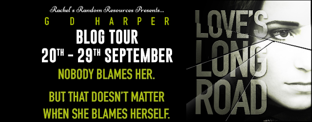 Love's Long Road by G.D. Harper Blog Tour Artwork