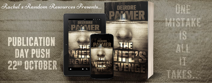 The Wife's Revenge by Deirdre Palmer Blog Tour Image