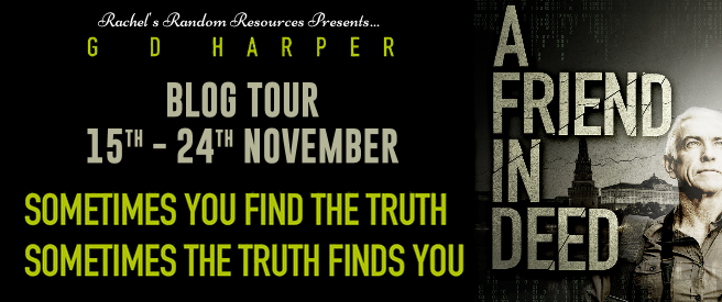 A Friend In Deed by GD Harper Blog Tour Artwork
