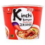Nongshim Noodles (Kimchi Ramyun Noodle Soup)
