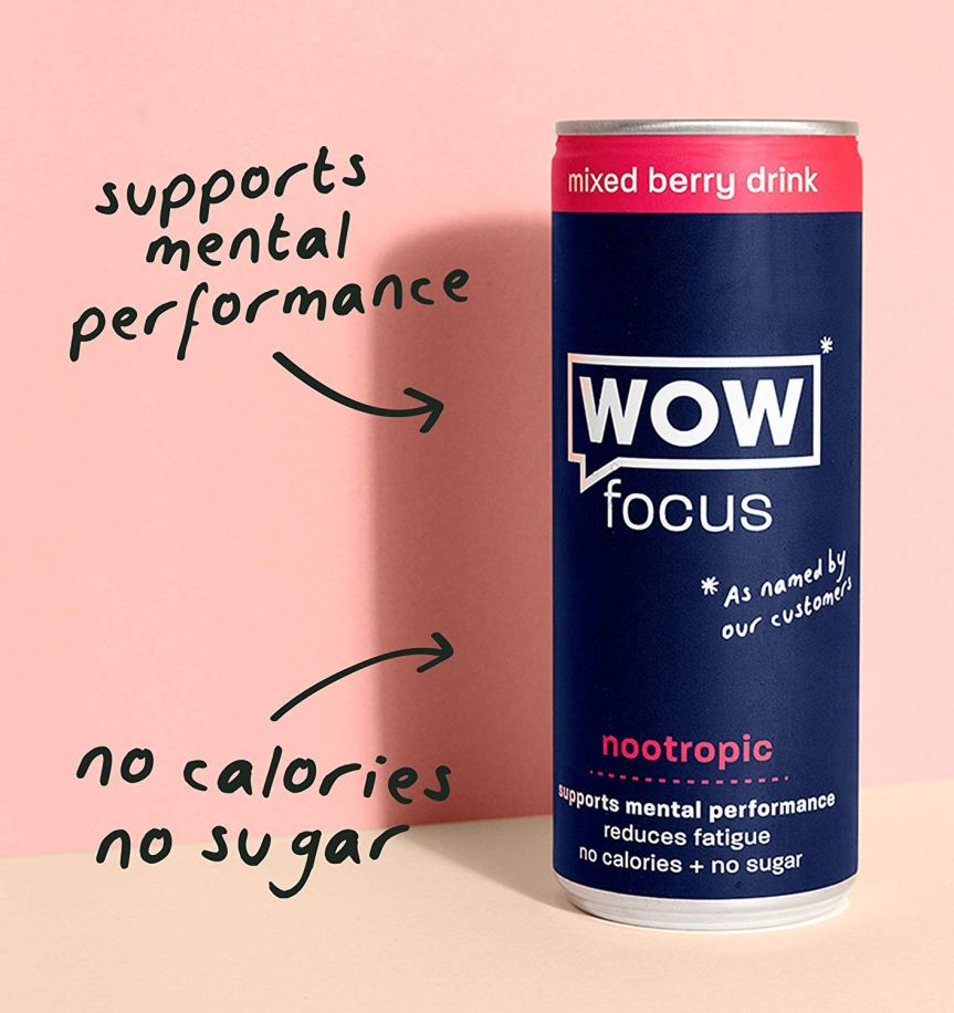 Product Review: WOW Focus Energy Drink