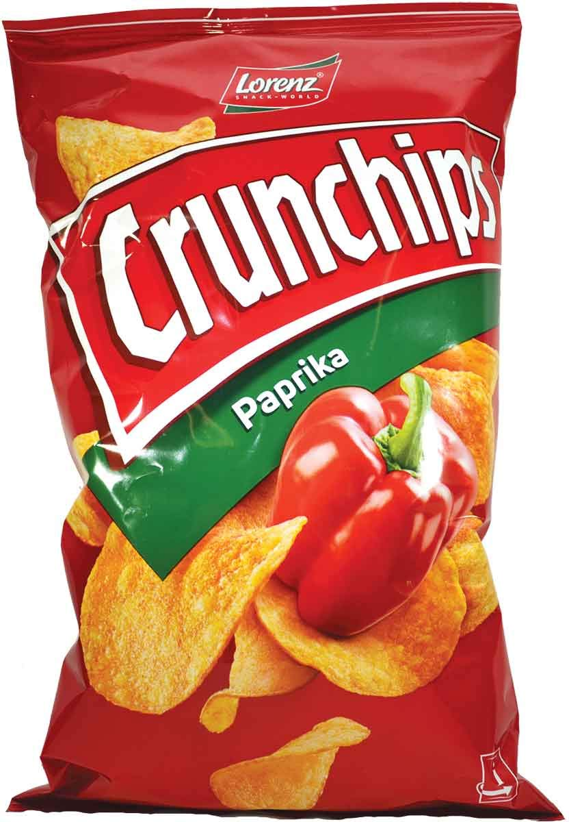 Product Review: Crunchips (paprika flavour)