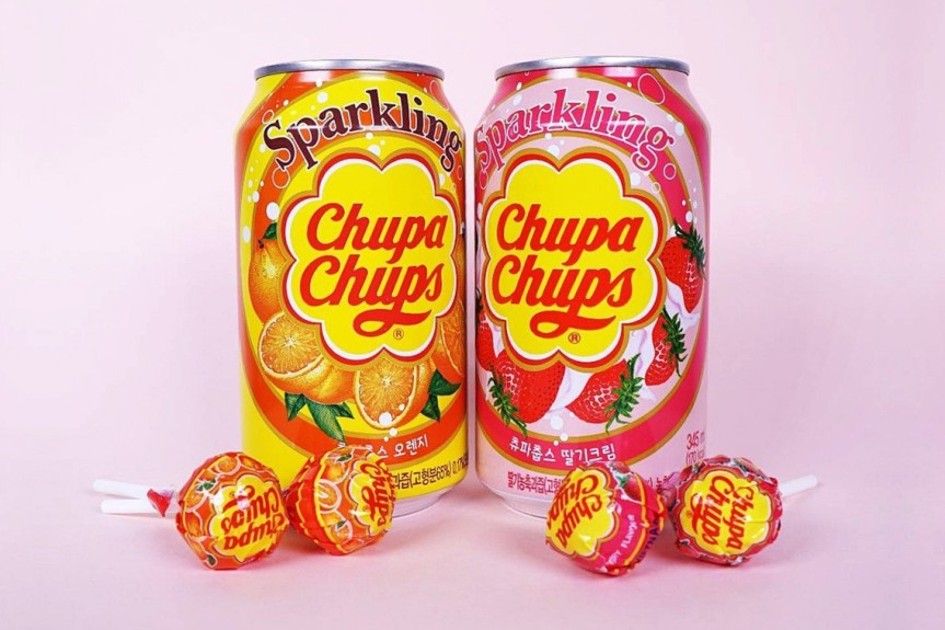Food Review: Chupa Chups Soft Drink (various flavours)