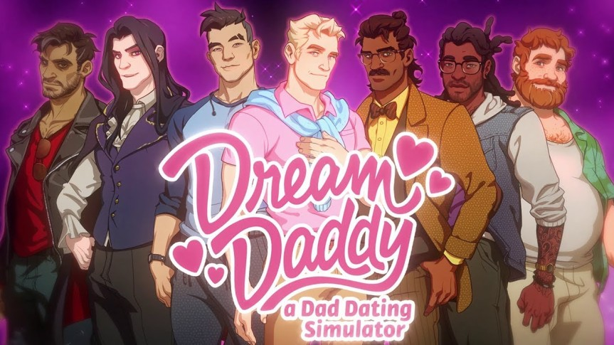 Game Review: Dream Daddy – A Dad Dating Simulator
