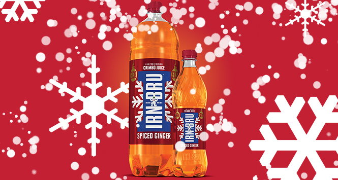Food Review: Irn Bru – Spiced Ginger (Crimbo Juice)