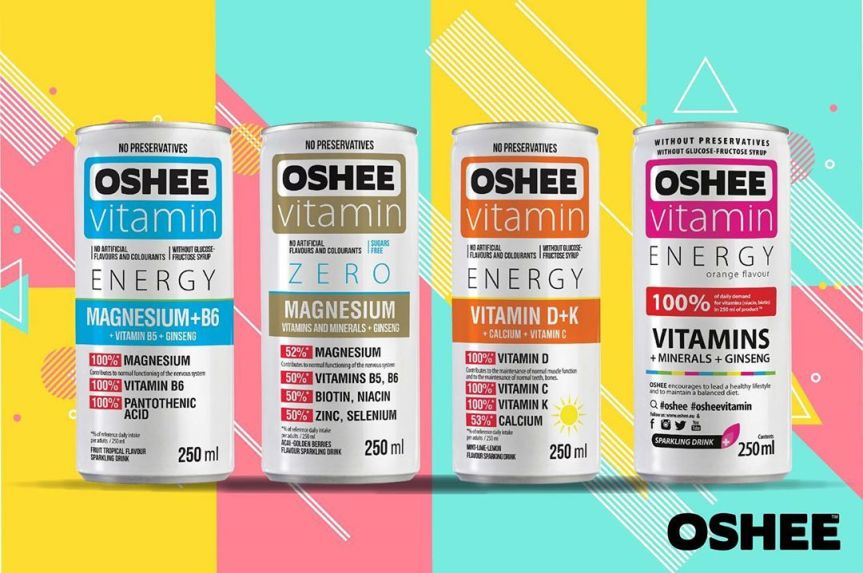 Food Review: Oshee Vitamin Energy Drink (Various Flavours)