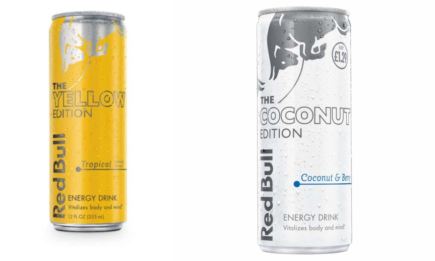 Product Review: Red Bull (Tropical Fruits and Coconut & Berry)