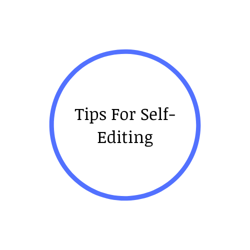 Tips For Self-Editing