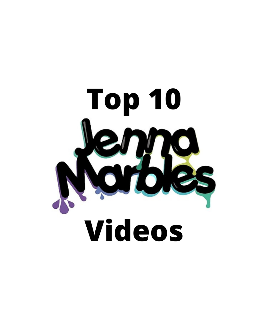Top 10: Jenna Marbles Videos Artwork