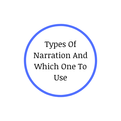 Types Of Narration And Which One To Use​