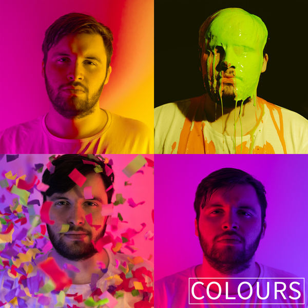 Chris Greig and The Merchants - Colours Artwork