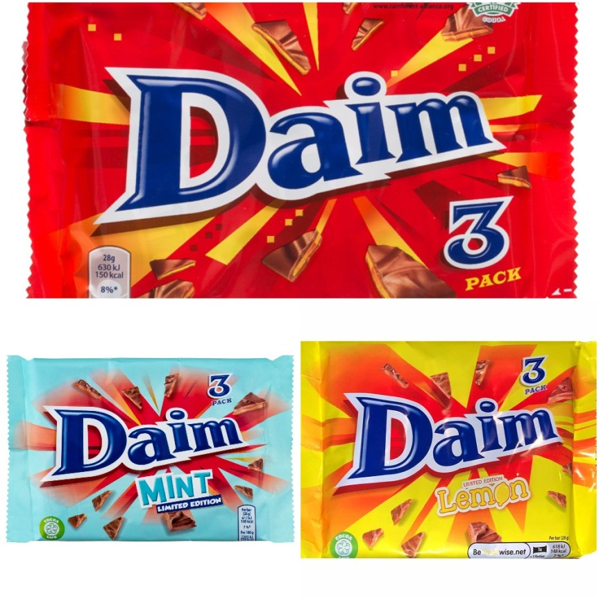 Product Review: Daim (Various Flavours)