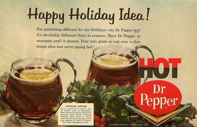 Food Review: Hot Dr Pepper