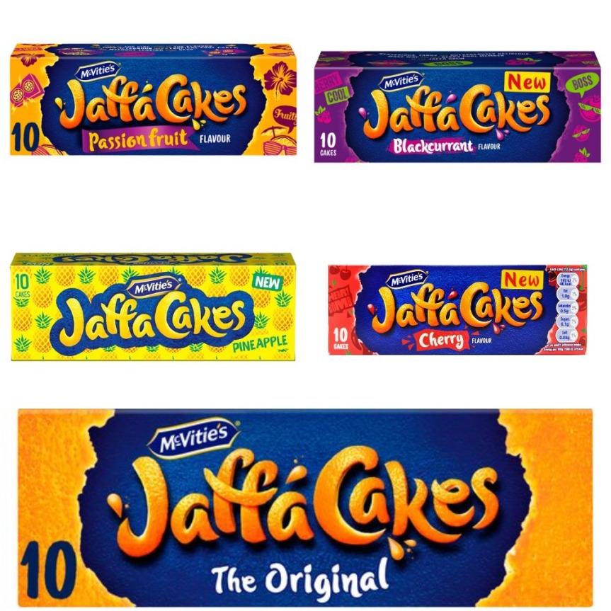 Jaffa Cakes (Various Flavours) Artwork