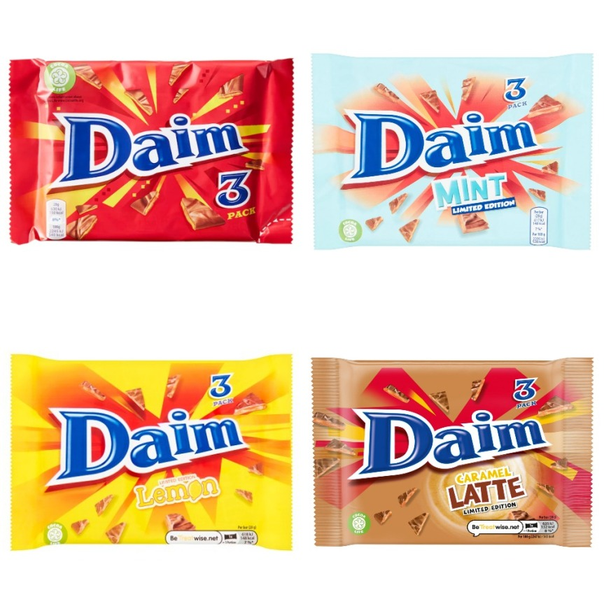 Food Review: Daim (VariousFlavours)