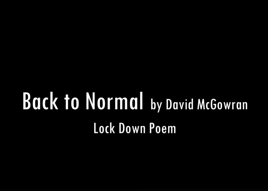 Back to Normal by David McGowran