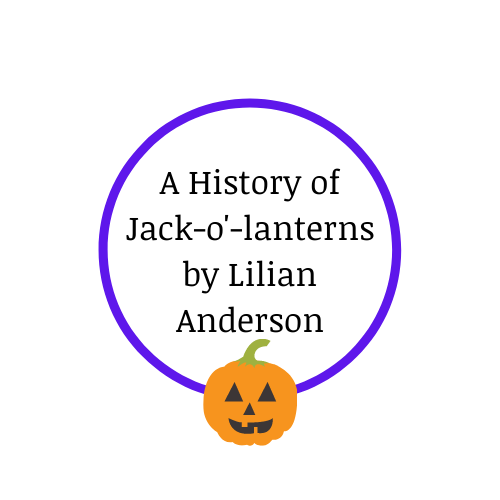 A History of Jack-o'-lanterns by Lilian Anderson Artwork