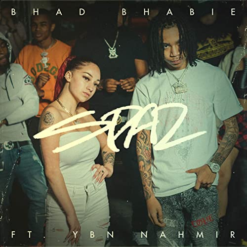 Bhad Bhabie - Spaz (ft. YBN Nahmir) Artwork