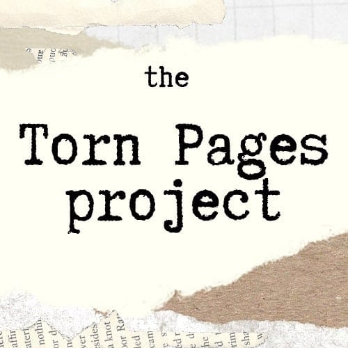 Interview with Jocelyn Bates (The Torn Pages Project)
