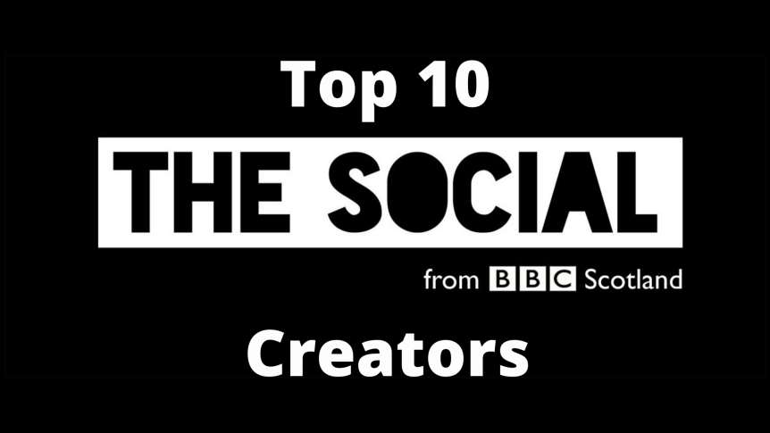 Top 10: BBC The Social Creators