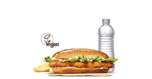 Food Review: Vegan Royale (BurgerKing)